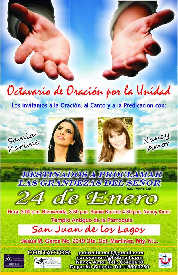 posters concierto ecumenico 2016
